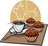 Coffee cake clipart 1 » Clipart Portal.