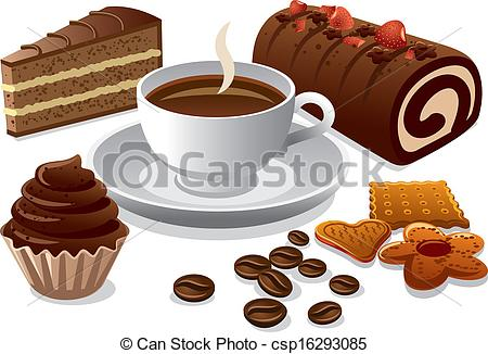 Coffee and cake clipart 3 » Clipart Station.