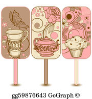 Coffee Cake Clip Art.