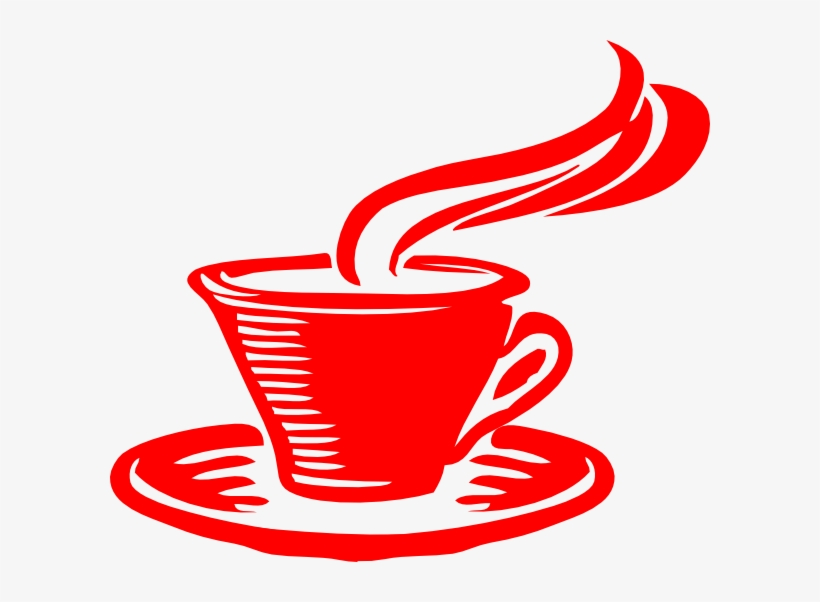 Coffee Clipart Red.