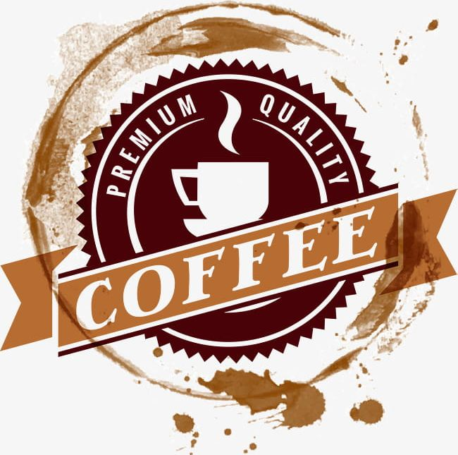 Round Coffee Logo PNG, Clipart, Badge, Coffee, Coffee.
