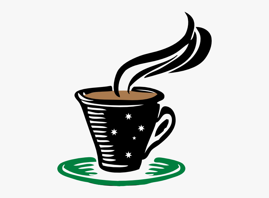 Hot Cup Of Coffee Clipart #46559.