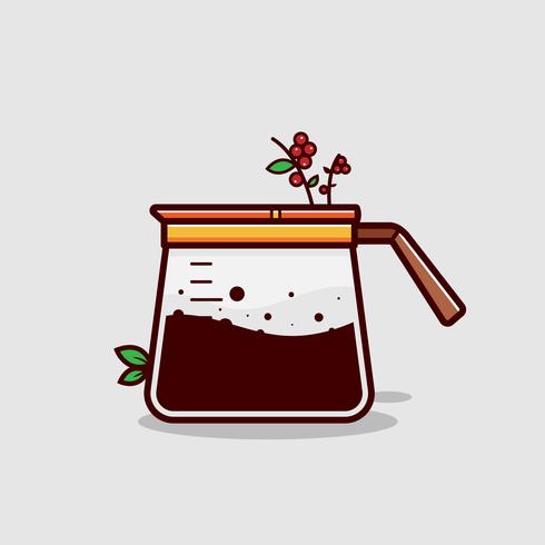 Coffee Clipart Vector.