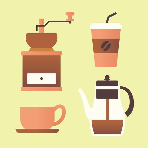 Coffee Clipart Set.
