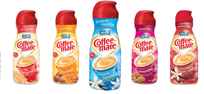 Addicted To Flavored Coffee Creamer.