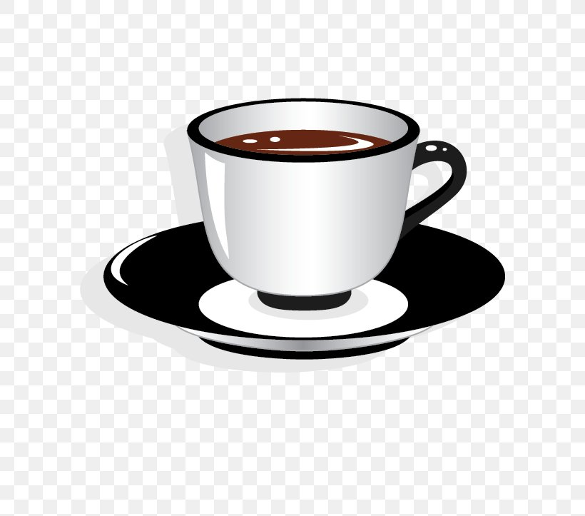 Teacup Saucer Clip Art, PNG, 720x723px, Tea, Caffeine.