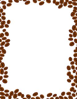 Coffee Beans Border.
