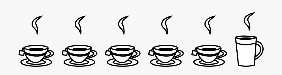 Free Coffee Borders Transparent Clipart , Png Download.