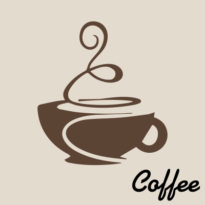 Vintage Coffee Cup Clipart.