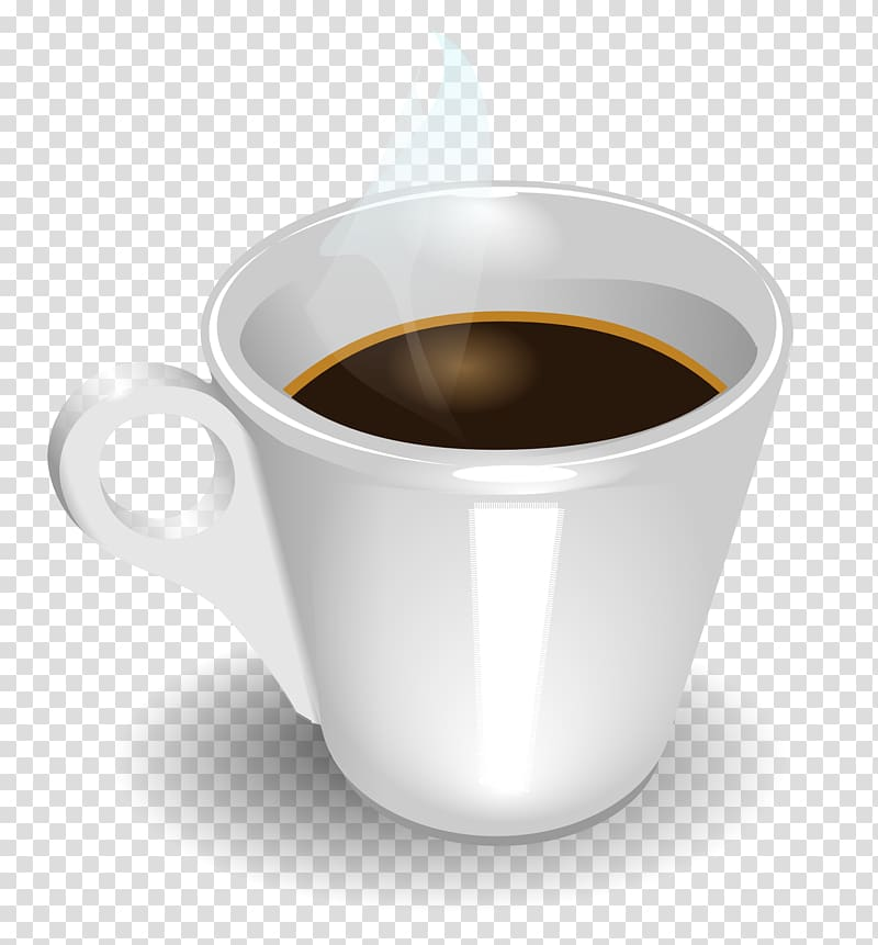 Coffee cup Tea Cafe Porcelain, Cup coffee transparent background PNG.