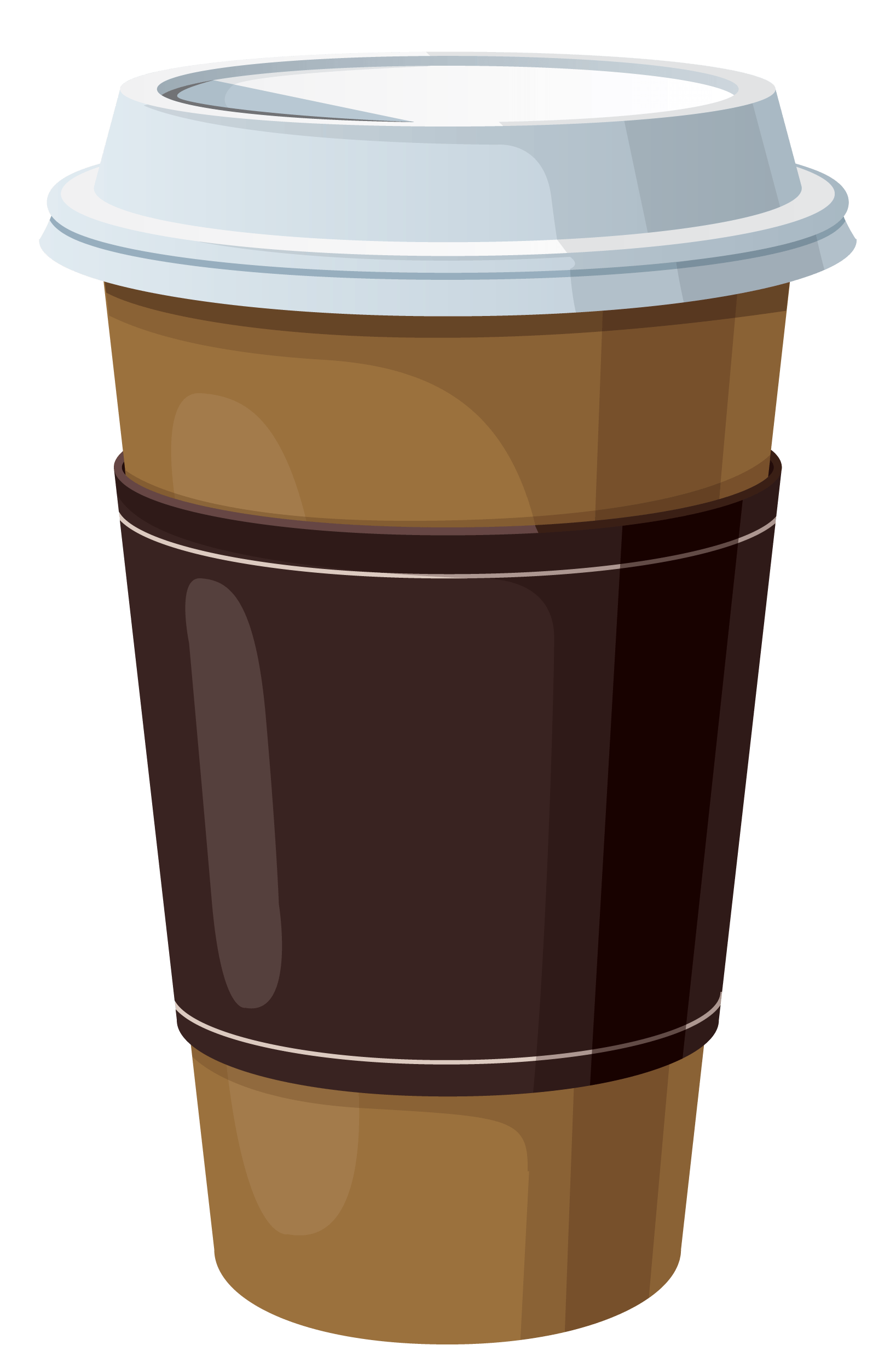 Coffee Background Cliparts.