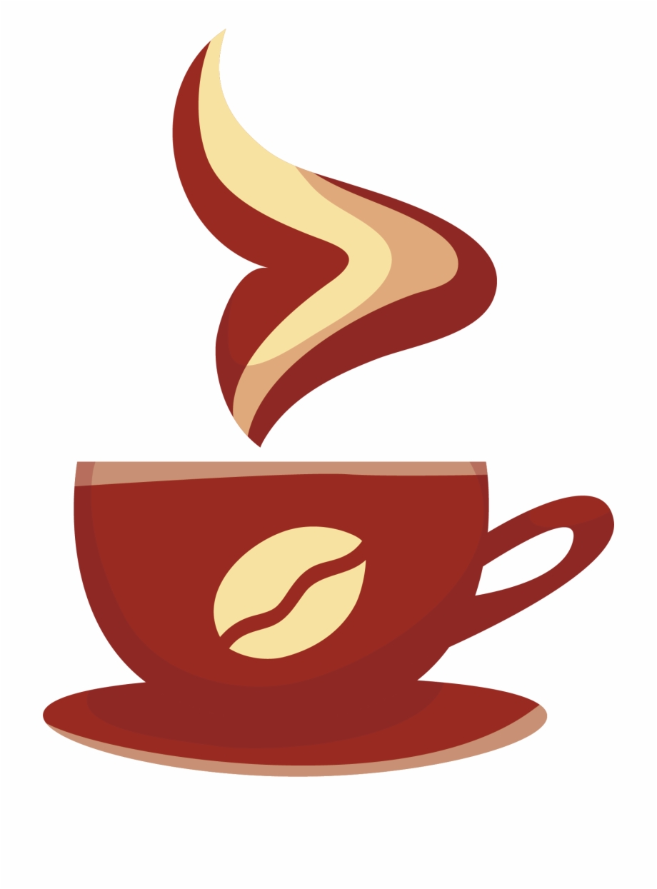 Mug Clipart Coffee Bagel Coffee Cup Png Vector.