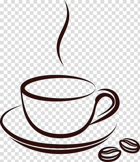 Coffee cup Tea Cafe , Mug, coffee in cup logo transparent.