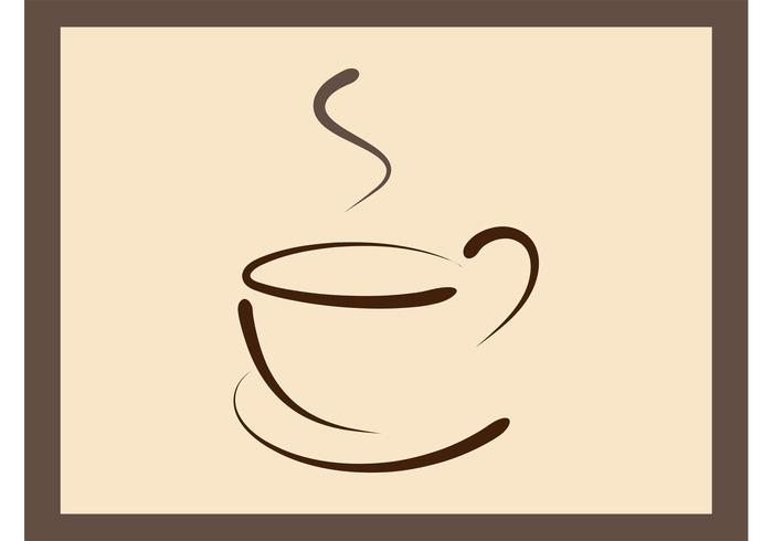 Coffee Cup Logo Template.
