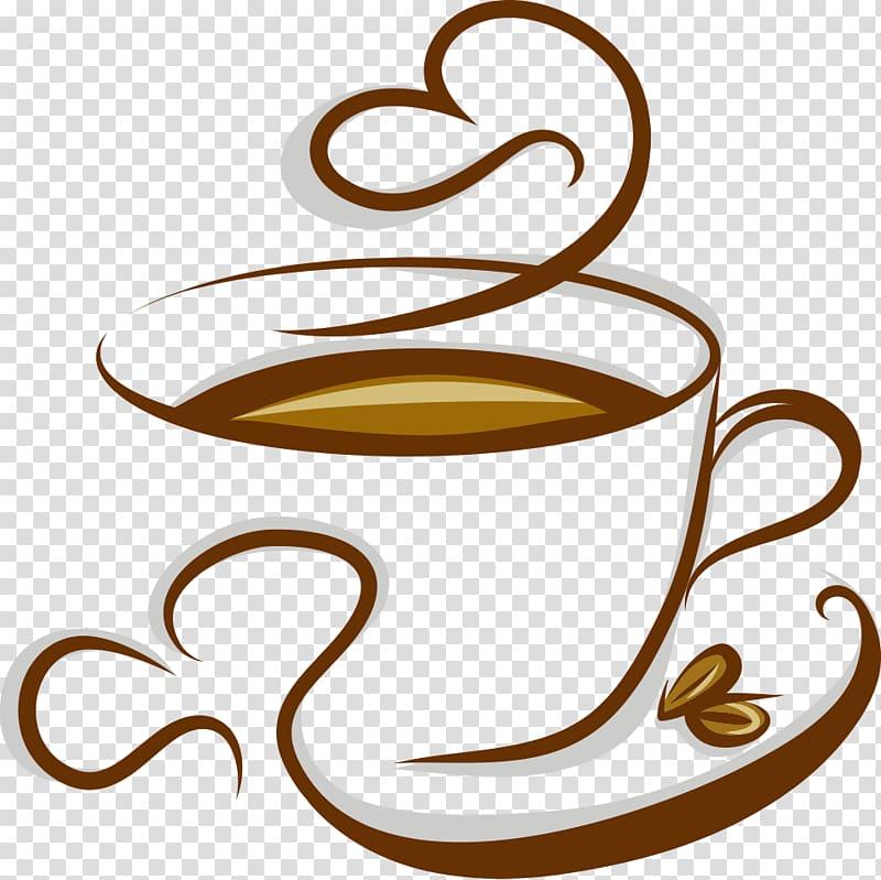 Coffee Cappuccino Espresso Tea Cafe, cup of coffee, teacup.