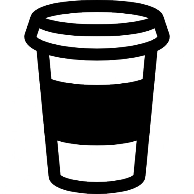 Coffee Cup Outline Icons
