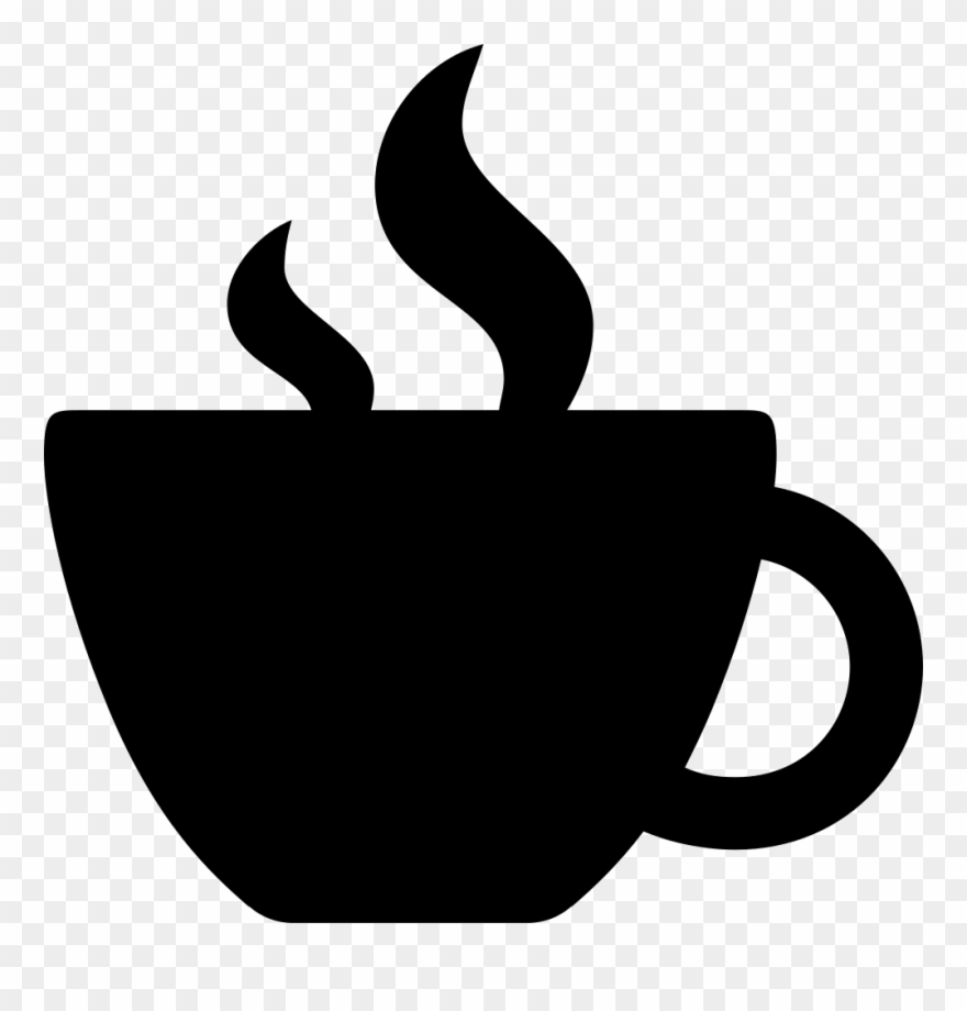 Svg Silhouette Coffee Cup Image Black And White Library.