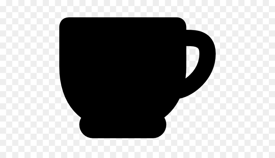 Coffee Cup Silhouette png download.