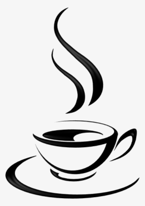 Coffee Cup Silhouette PNG, Transparent Coffee Cup Silhouette PNG.