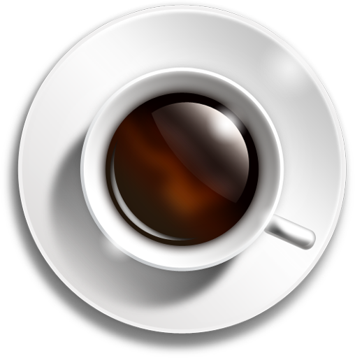 Coffee cup icon (PSD.