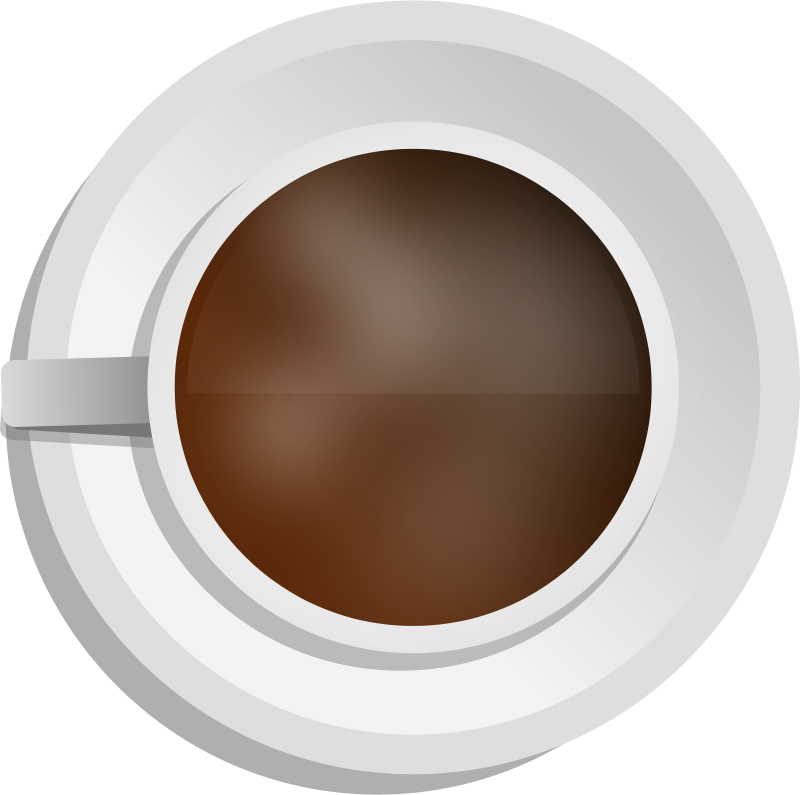 Free Clipart: Realistic Coffee cup.