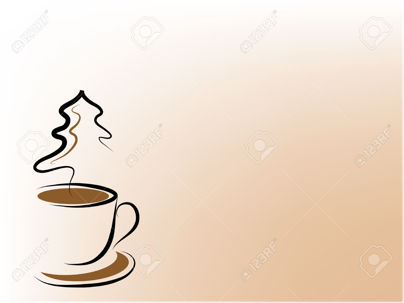 coffee cup tree clipart #20
