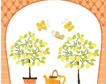 coffee cup tree clipart #3