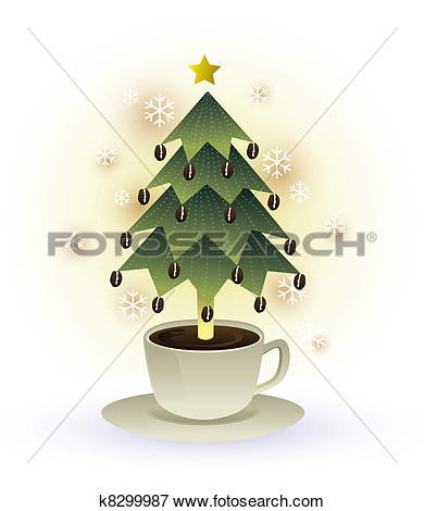 coffee cup tree clipart #18