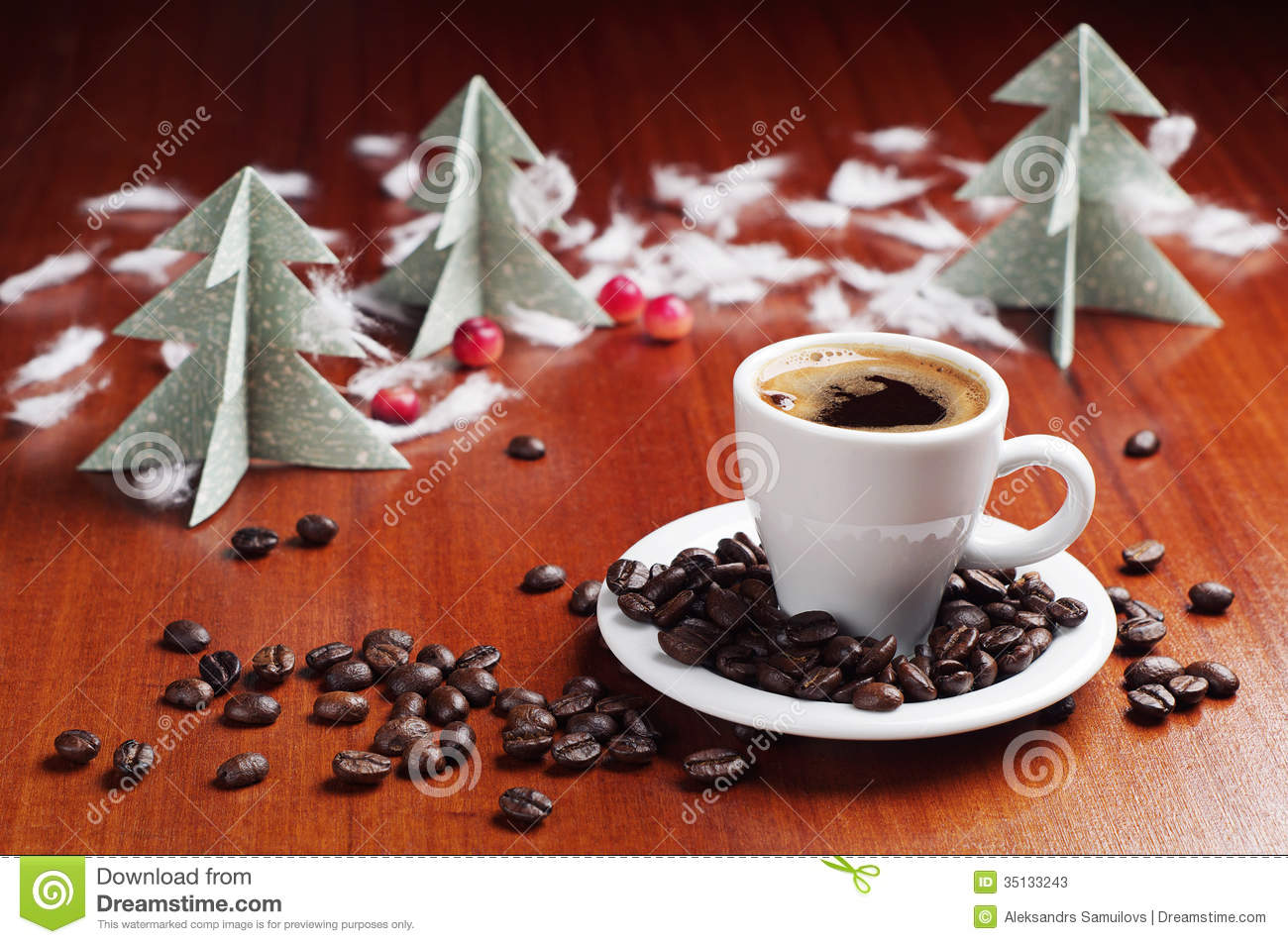 coffee cup tree clipart #12