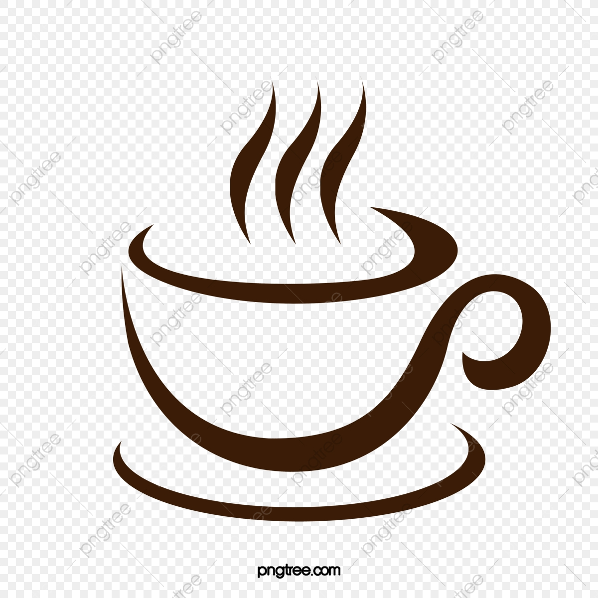 Decorative Coffee Cup Vector Material, Coffee, Decorative Motifs.