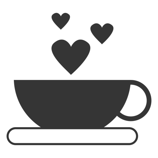 Coffee cup vector icon.