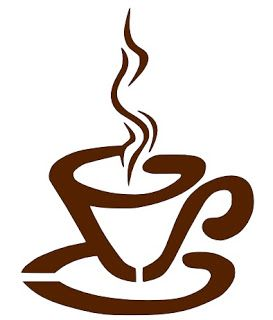 Steaming Cup of Coffee.