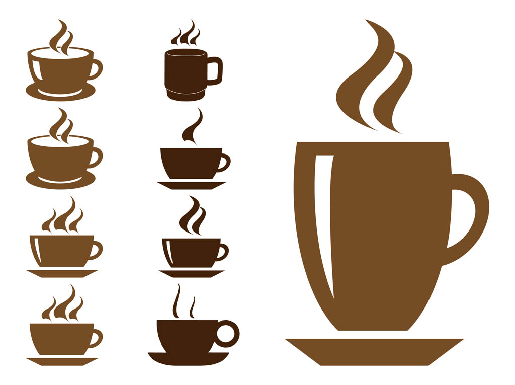 14 Coffee Steam Vector Images.