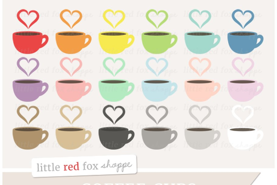 Coffee Cup Clipart Graphics.