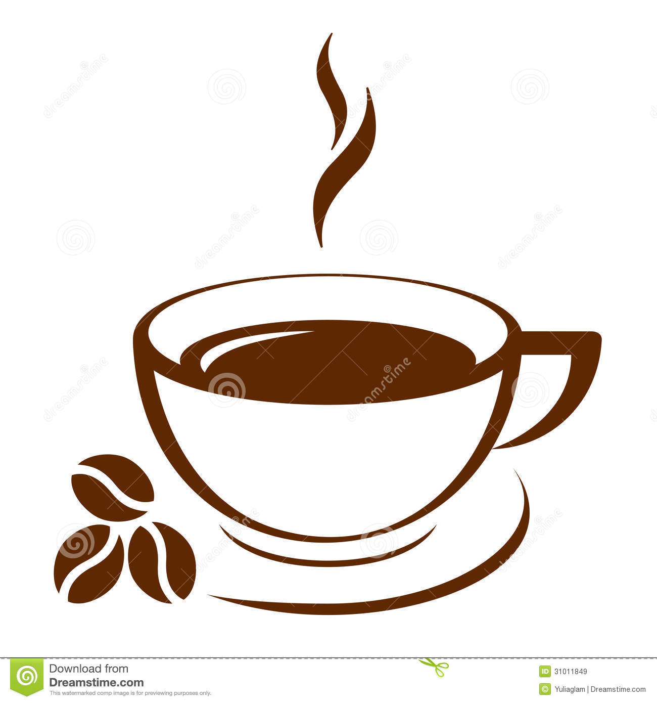 Coffee Cup Royalty Free Stock Images.