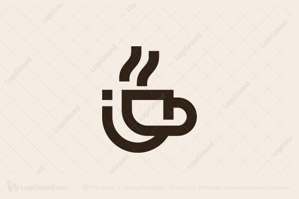 Exclusive Logo 170240, Coffee Cup Logo.