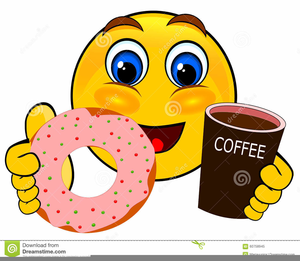 Clipart Coffee And Donuts.