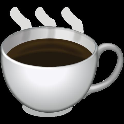 Hot Coffee Emoji.