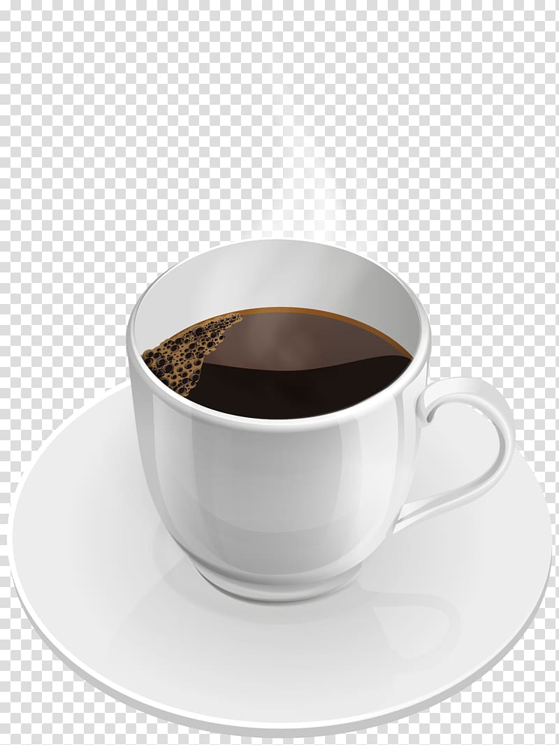Coffee cup Tea Instant coffee White coffee, coffee cup transparent.