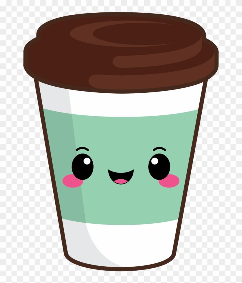 Cute Coffee To Go Green.