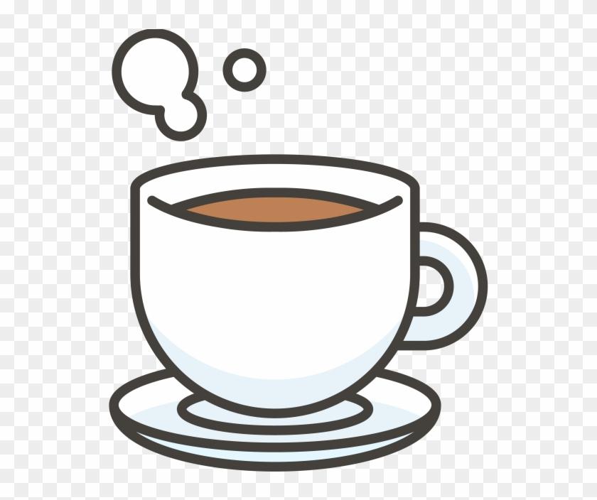 Coffee Emoji Icon.