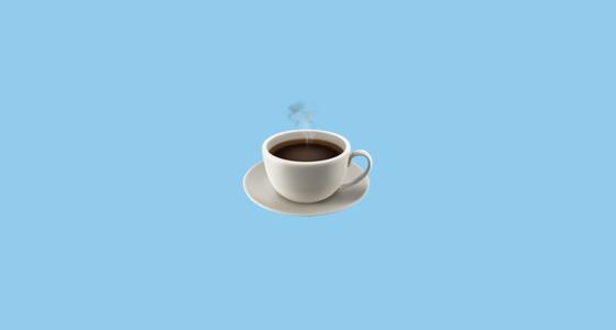 ☕ Hot Beverage Emoji.