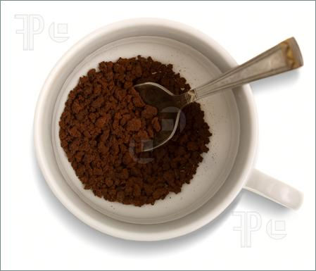 Instant Coffee Granules Clipart.