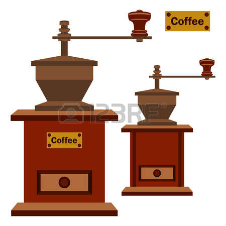 4,465 Coffee Grinder Stock Illustrations, Cliparts And Royalty.