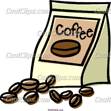 Ground coffee clipart.