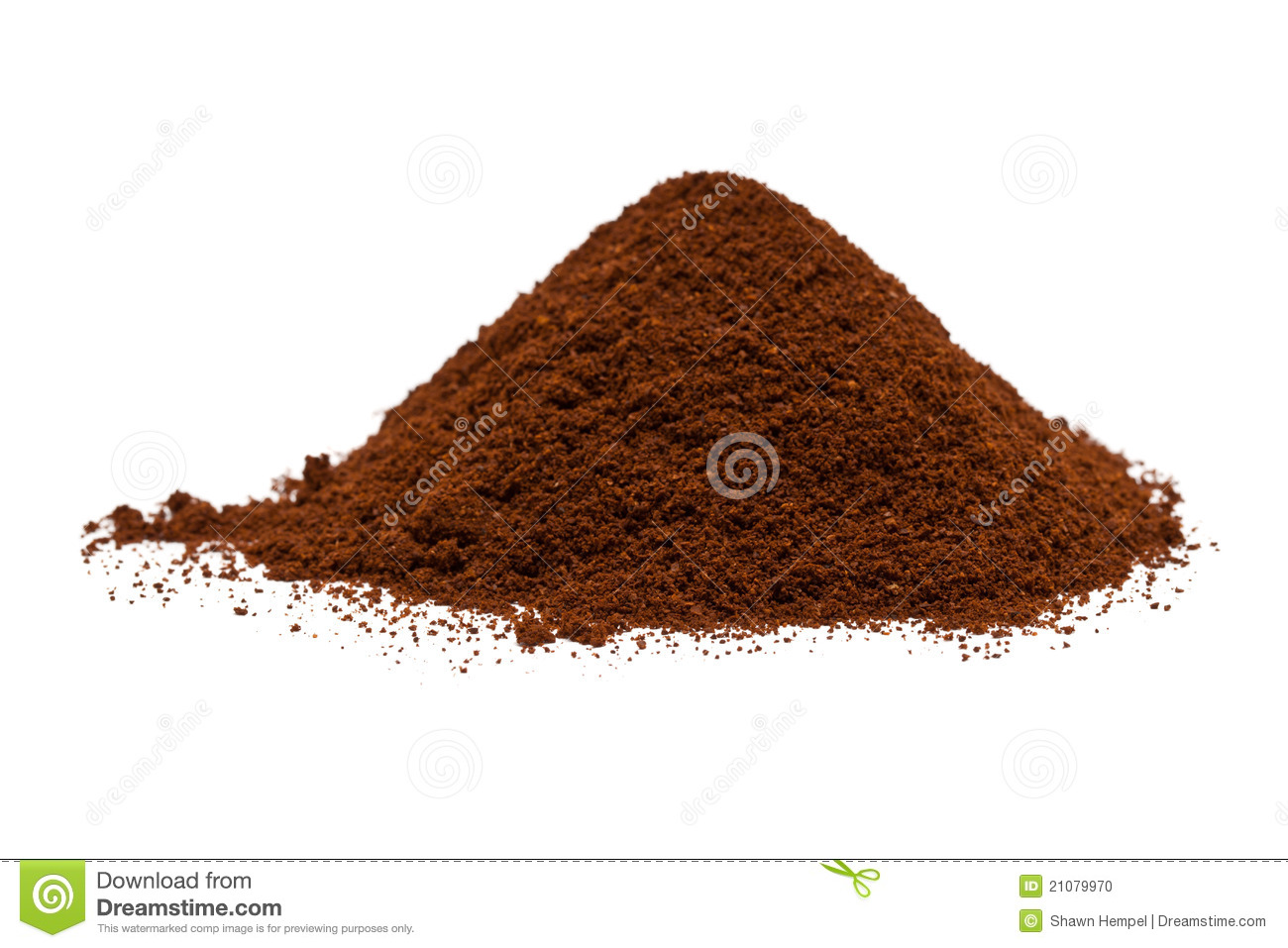 Coffee Grounds Clipart Ground Coffee Stock Photo.