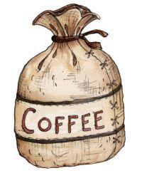Clip Art Coffee Bag Clipart.