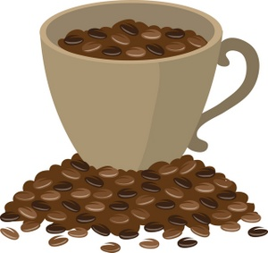 Coffee grounds clipart #19