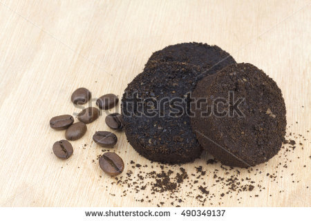 Used Coffee Grounds Stock Photos, Royalty.