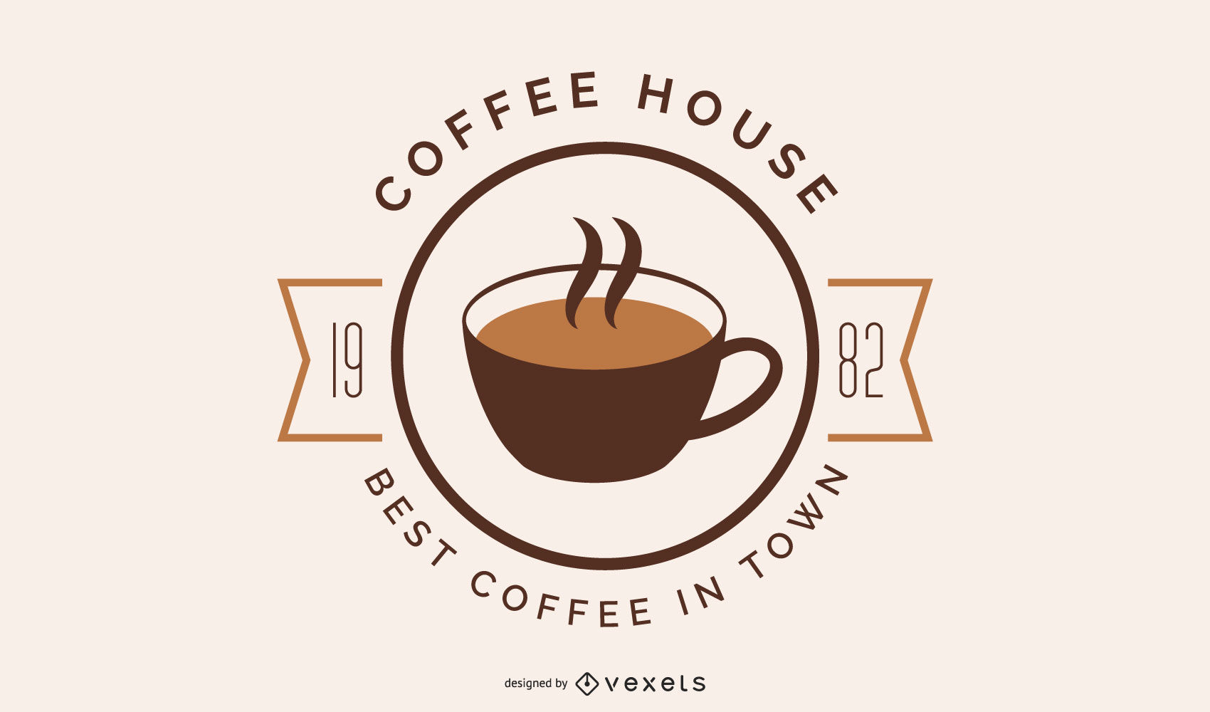Coffee house logo design.